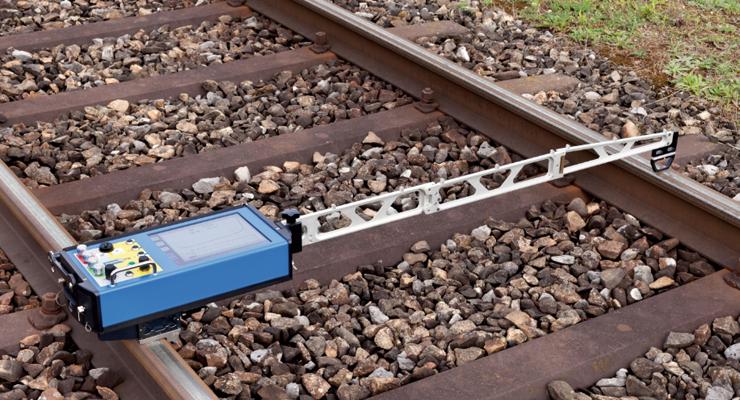 SCHMID Railmonitor激光便携式道岔检测仪