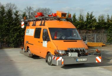奥特迈斯数字激光公路路面车辙/平整度/纹理检测应用方案